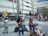Kinshincho Tokyo Japon musique dans la rue
