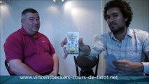 interview de Vincent Beckers - les arcanes mineurs du tarot