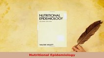 Download  Nutritional Epidemiology PDF Online