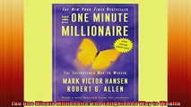READ book  The One Minute Millionaire The Enlightened Way to Wealth Online Free