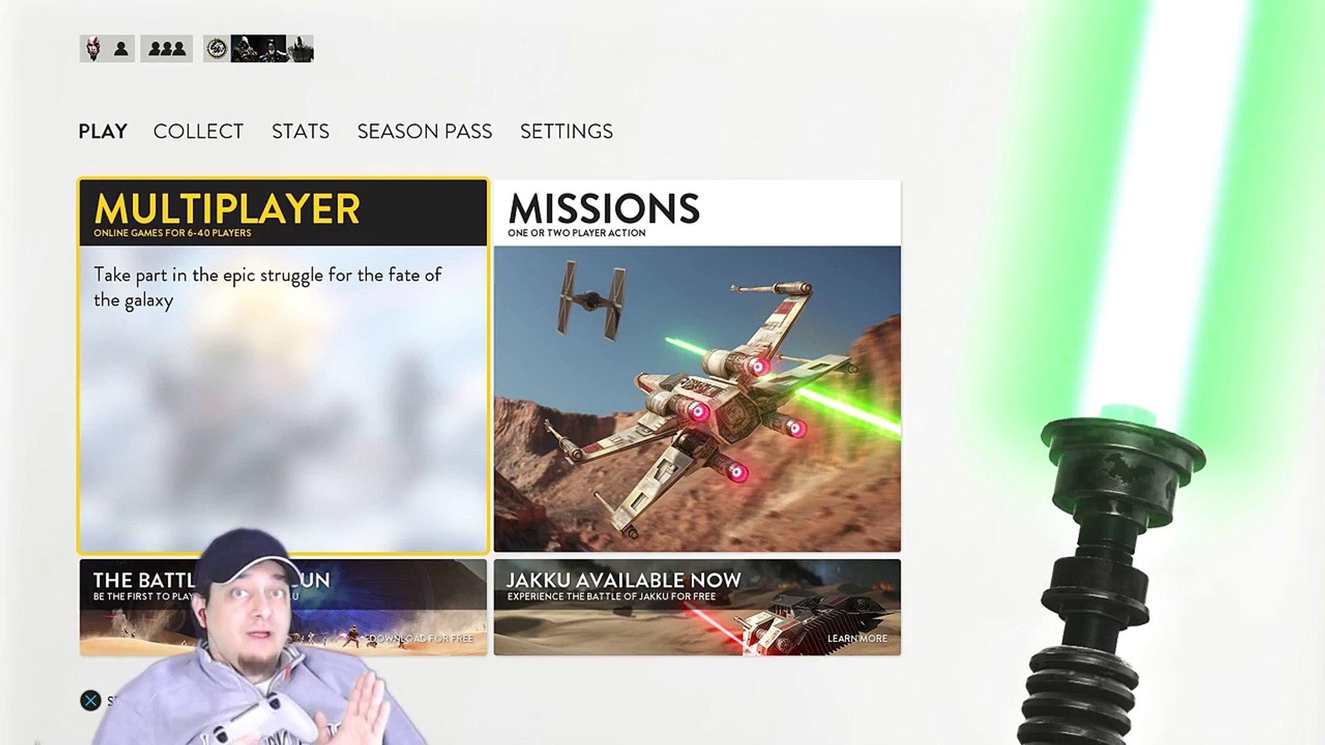 Star Wars Battlefront Part 7 Gameplay Walkthrough PS4 Multiplayer