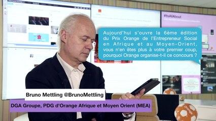 Bruno Mettling: Orange et l'entrepreneuriat en Afrique et au Moyen-Orient