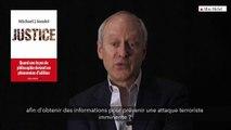 Torture, mariage homosexuel : deux débats de société - Justice - M. J. Sandel
