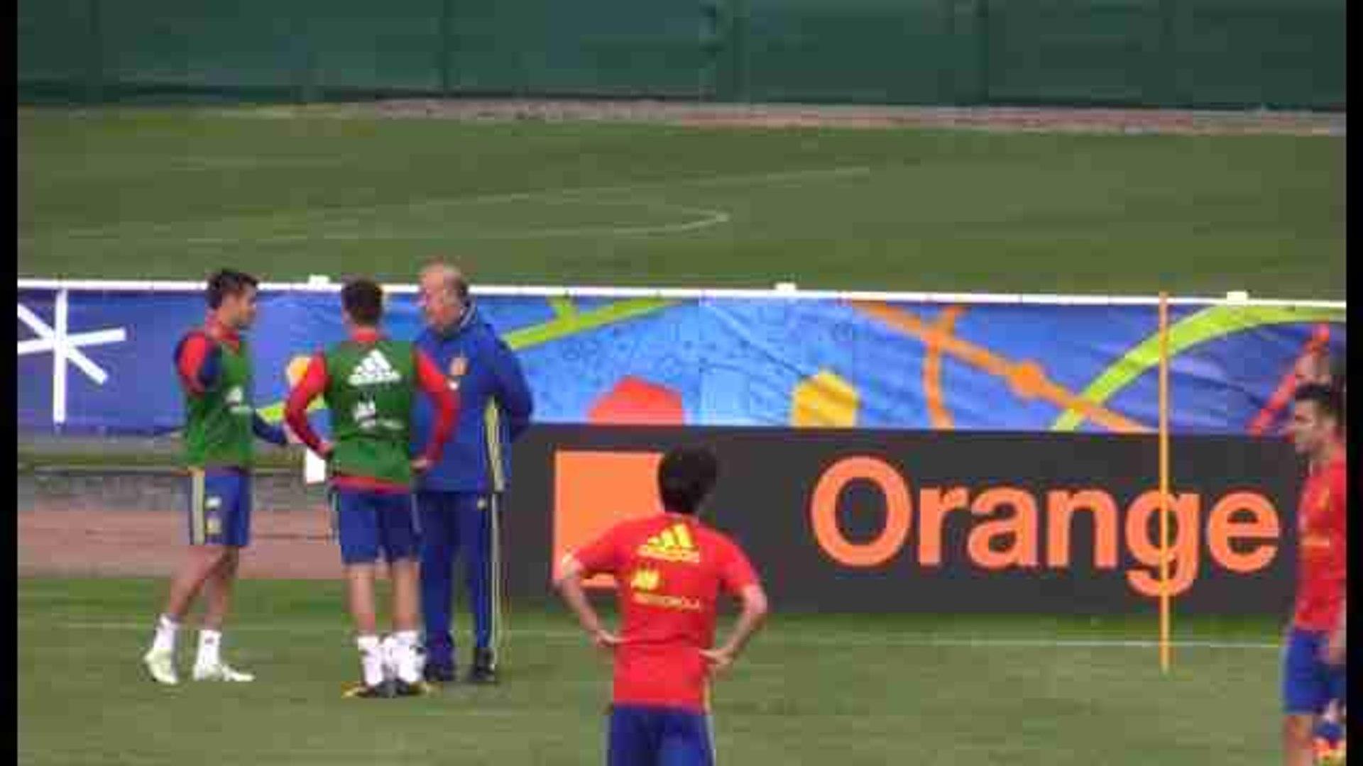 Vicente del Bosque prueba con Morata