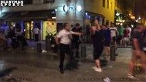 Bagarre entre hooligans anglais et des jeunes marseillais sur le Vieux-Port !