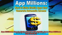 Popular book  App Millions How to Make Money with Mobile Apps App Millions Now Book 3