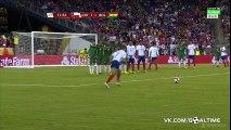 Alexis Sanchez amazing free KICK - Chile 1-1 Bolivia - 10-06-2011