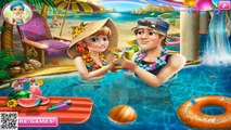 Disney Frozen Game 2015 - Frozen Anna Pool Celebration Baby Videos Games For Kids