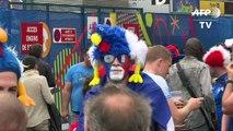 Euro-2016: affluence au Stade de France pour France/Roumanie