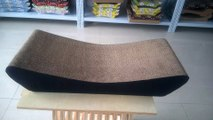 Corrugated cat scratcher lounge from factory
