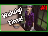 WALUIGI IN SIMS 4 - Part 1 - Foop Plays