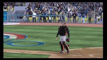 MLB 11 The Show Opening Day SF GIANTS VS. LA Dodgers featuring FEAR THE BEARD!