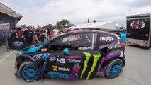Rallycross Rookie Driver Wins the Championship - Red Bull Global Rallycross 2014