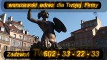ADRES Warszawa  2010  602-33-22-33