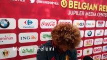 Marouane Fellaini explique pourquoi il a changé la couleur de ses cheveux