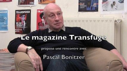 Rencontre avec Pascal Bonitzer