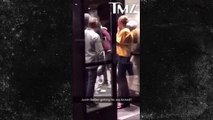 Bagarre de Justin Bieber contre un homme très costaud