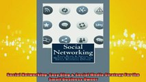 READ book  Social Networking Easy Blog  Social Media Strategy For the Small Business Owner Online Free