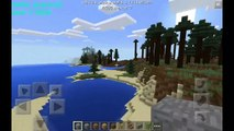 Seed Para Minecraft PE 0.12.1 | 0.11.1 | Bioma Taiga, Desierto y Explanada | #13