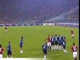 76 coups francs (R.Carlos,Adriano,Juninho,Zidane,Totti)