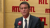 """Manuel Valls sur RTL : """"Les sanctions contre ceux qui veulent casser du flic doivent être implacables"""""""