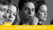 JUSTE LA FIN DU MONDE - Press Conference - EV - Cannes 2016