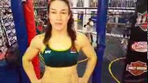Sara McMann training in Anderson for her upcoming fight vs Jessica Eye UFC Fight Night 88
