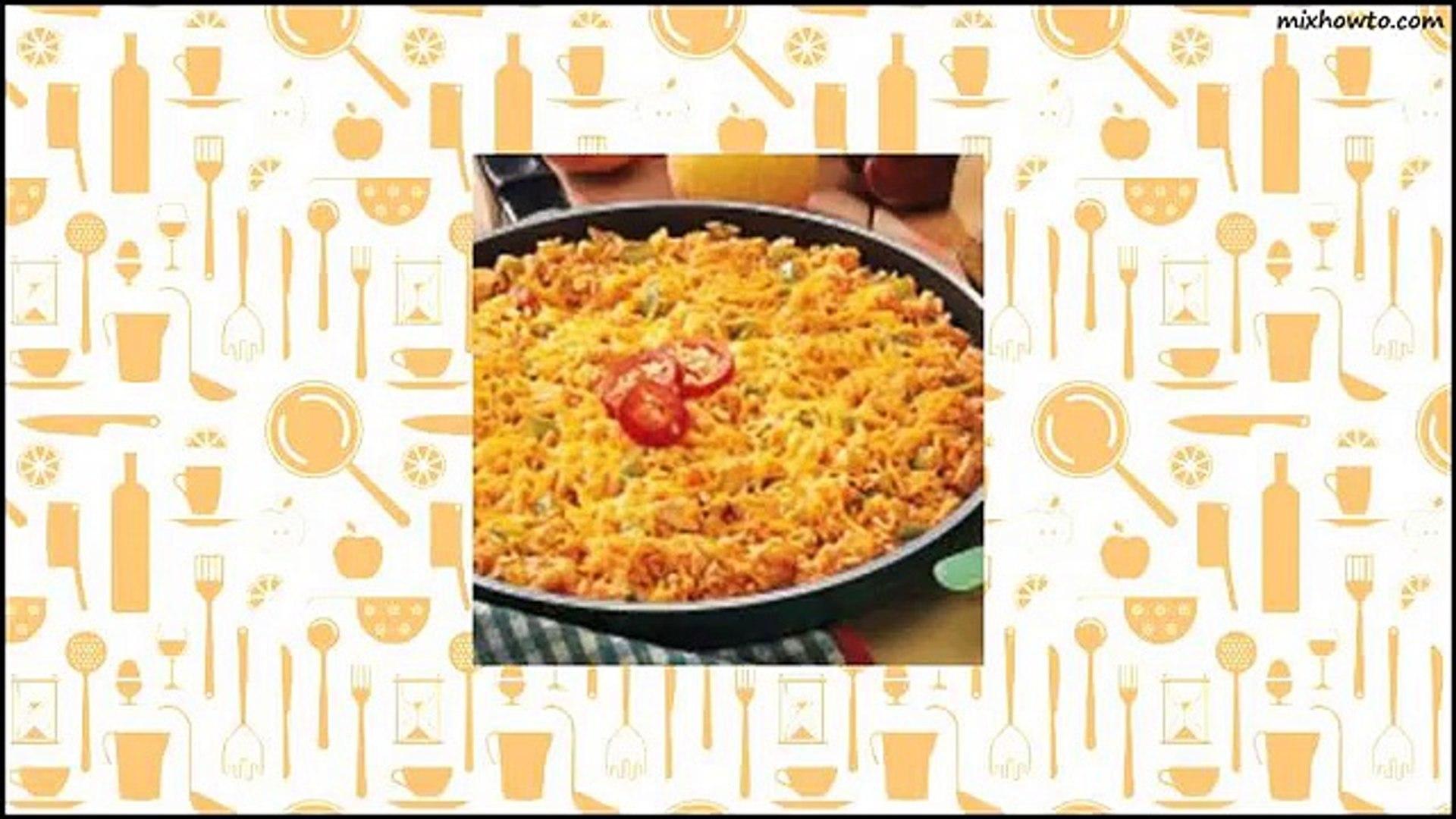 Recipe Mexican Chicken and Rice Recipe