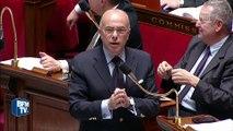 Echange tendu entre Cazeneuve et le FN à l'Assemblée