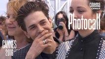 Xavier Dolan, Vincent Cassel, Marion Cotillard, Gaspard Ulliel, Léa Seydoux et Nathalie Baye (Juste la fin du monde) - Photocall Officiel - Cannes 2016 - CANAL+