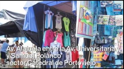 Pánico en Portoviejo durante el sismo de 6.8 grados de las 11:46