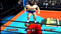 Virtual Pro Wrestling 64 Andre The Giant vs Abdullah