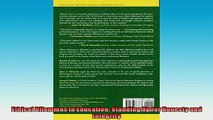 FREE DOWNLOAD  Ethical Dilemmas in Education Standing Up for Honesty and Integrity  BOOK ONLINE