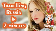 Travelling Russia in 2-minute