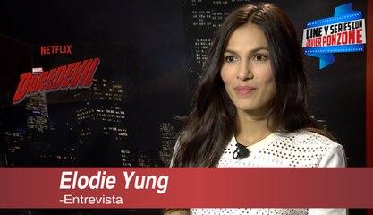 """A solas con Elodie Yung de """"Daredevil"""" por Javier Ponzone"""
