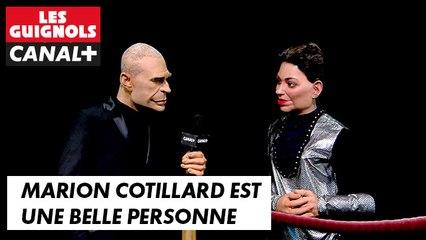 Marion Cotillard est une belle personne - Les Guignols du 19/05 - CANAL+