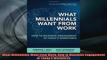 READ THE NEW BOOK   What Millennials Want from Work How to Maximize Engagement in Todays Workforce  FREE BOOOK ONLINE