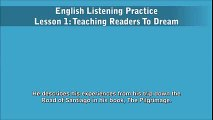 English Listening Practice - Lesson 1 - Teaching Readers To Dream