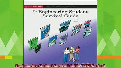 free pdf   Engineering Student Survival Guide BEST Series