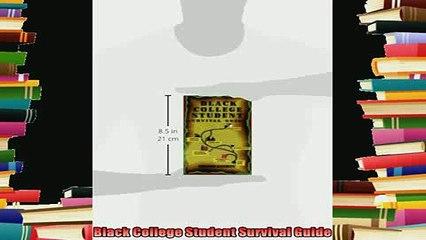 new book  Black College Student Survival Guide