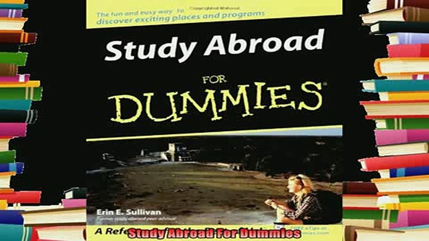 new book  Study Abroad For Dummies