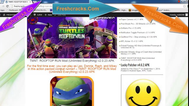 TMNT ROOFTOP RUN Mod Unlimited Everything v2 0 23 APK