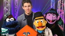 Nick Jonas Sings About Shapes on 'Sesame Street'