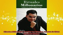 FREE DOWNLOAD  Rituales Millonarios Cambia Tus Rituales Cambia Tu Vida Spanish Edition  FREE BOOOK ONLINE