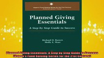 READ book  Planned Giving Essentials A Step by Step Guide to Success Aspens Fund Raising Series Full EBook