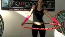 "Hooper ""At One"" With Hula Hoop - Fun 10-Minute Aerobic Exercise Dance"
