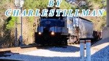 [CSX]994 ES44AH & Wierd  ES44DC Leads Q141-29 Through Fayetteville NC & Pretty Long Train