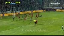 Marcus Berg Goal Panathinaikos F.C. vs Club Brugge 1-1 {28/7/2015}