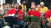 """Gratt'Essonne Big band : """"Hymne à Roxane"""", Festival """"Jazz sous les pommiers"""", 7 mai 2016, Coutances"""