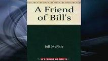 READ book  A Friend of Bills Free Online